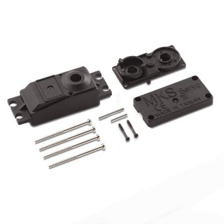 Servo Case Pack a set & screw for DS1210