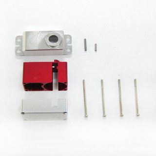 Servo Case Pack a set & screw for DS6125E